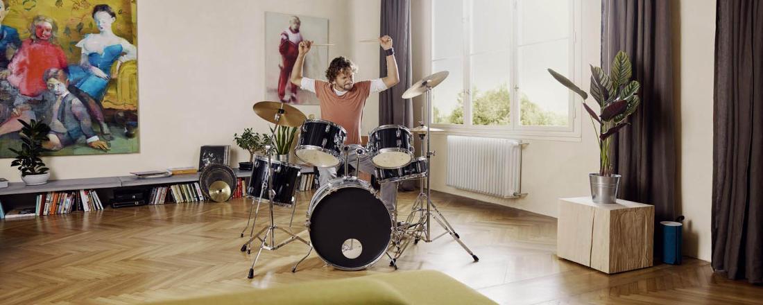 Baufinanzierung-Hamburg-Wuestenrot-Service-Center-eigenes-Haus-Schlagzeug